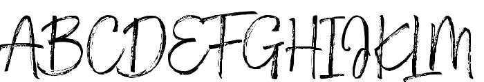 Thomastane Font UPPERCASE