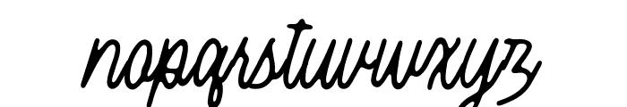 Threesixty Font LOWERCASE