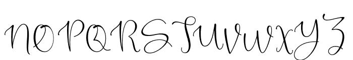 TimlineScript Font UPPERCASE