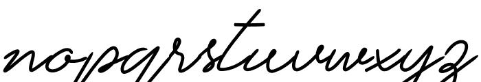 Tisarellia Font LOWERCASE