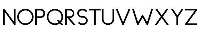 Topazia Bold Font UPPERCASE