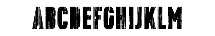 Toppo-Stencil Font UPPERCASE
