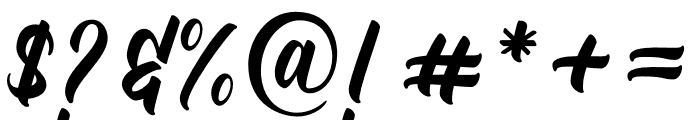 TradeMark Font OTHER CHARS