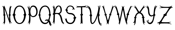 Tree Branch Font LOWERCASE