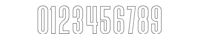 Triester Sans Outline Font OTHER CHARS