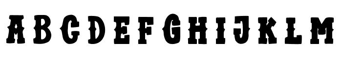 TrioAprilianaBold Font UPPERCASE