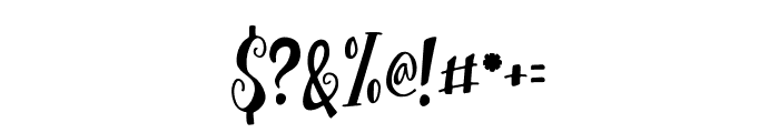 TrioAprilianascript Font OTHER CHARS