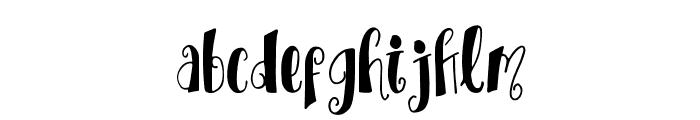 TrioAprilianascript Font LOWERCASE