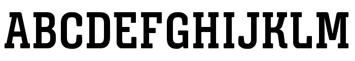 Triunfo-BoldCondensed Font UPPERCASE