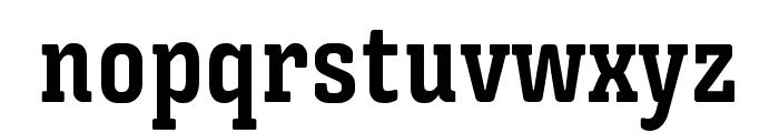 Triunfo-BoldCondensed Font LOWERCASE