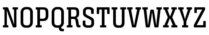 Triunfo-DemiBoldCondensed Font UPPERCASE