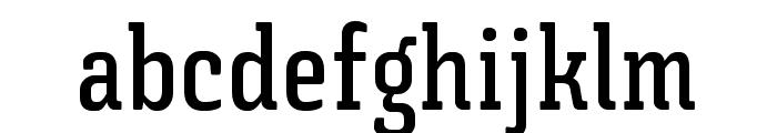 Triunfo-DemiBoldCondensed Font LOWERCASE