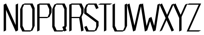 Trophy regular Font UPPERCASE