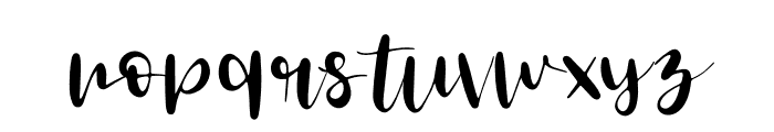 Tropical Palm Font LOWERCASE