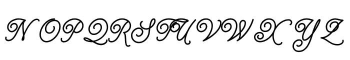 Tropical Thunder Font UPPERCASE