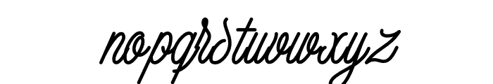 Tropical Thunder Font LOWERCASE