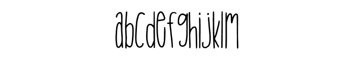 Tropical Trouble Font LOWERCASE