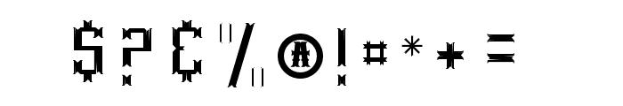 TrueWestInsert Font OTHER CHARS