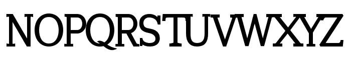 Tugano Bold Font UPPERCASE