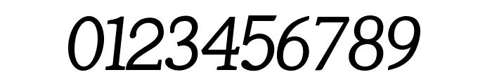 Tugano Italic Font OTHER CHARS