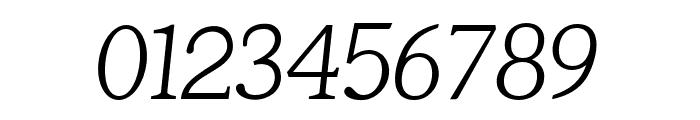 Tugano Light Italic Font OTHER CHARS