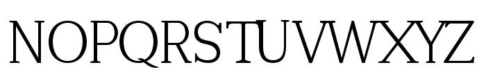 Tugano Light Font UPPERCASE
