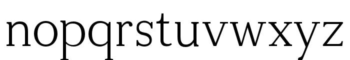 Tugano Light Font LOWERCASE