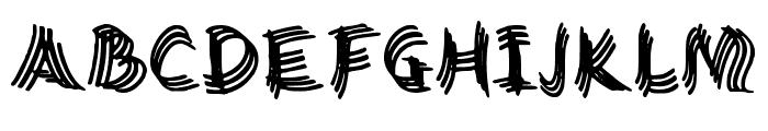 Twisty Girlz Regular Font UPPERCASE