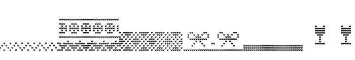 Ugly Sweater Font BOLD Font OTHER CHARS