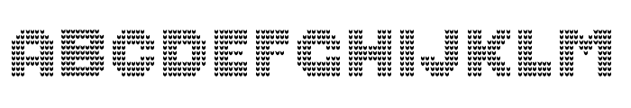 Ugly Sweater Font BOLD Font LOWERCASE