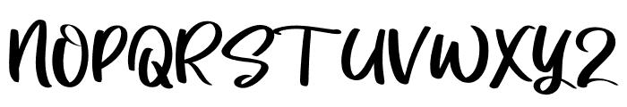 Ultramile Font UPPERCASE