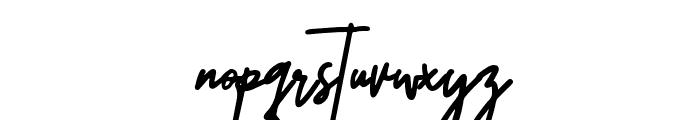 Untitled Artwork Font LOWERCASE