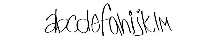 UrbanWriter Font LOWERCASE