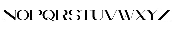 VELVET Regular Font LOWERCASE