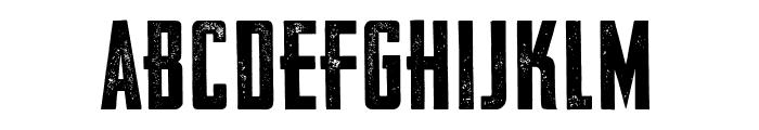 VFC Fantomen Press Font UPPERCASE