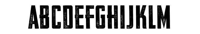 VFC Fantomen Press Font LOWERCASE