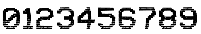 VHS Glitch 1 - Lower Font OTHER CHARS