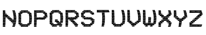 VHS Glitch 1 - Lower Font UPPERCASE