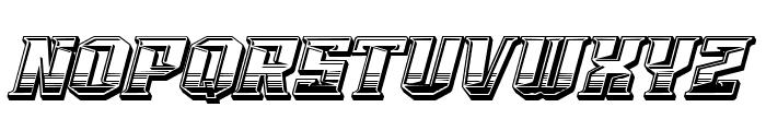 VORGlyd Font UPPERCASE