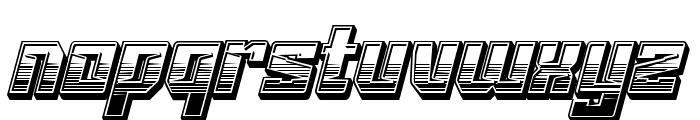 VORGlyd Font LOWERCASE