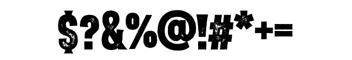 VVD Golden Horn Pressed Font OTHER CHARS
