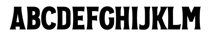 VVD Golden Horn Regular Font UPPERCASE