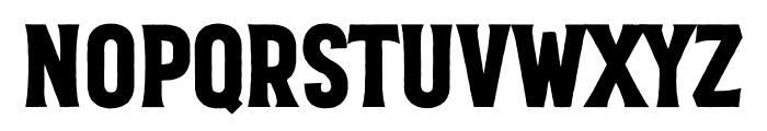 VVD Golden Horn Roughen Font UPPERCASE
