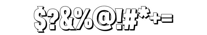 VVD Golden Horn Shadow Font OTHER CHARS