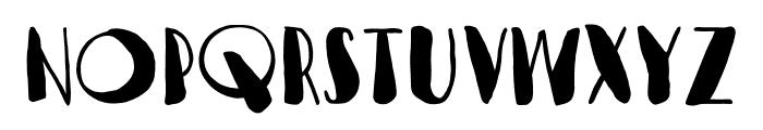 VagabundoFat Font LOWERCASE