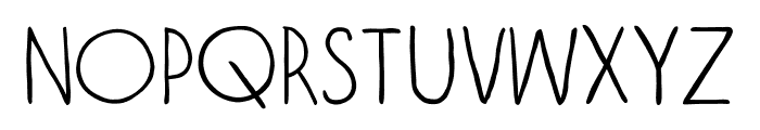 VagabundoLight Font LOWERCASE