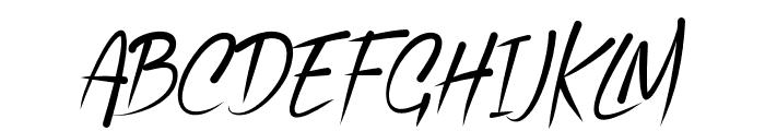 Vallen-Regular Font UPPERCASE