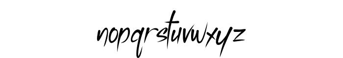 Vallen-Regular Font LOWERCASE