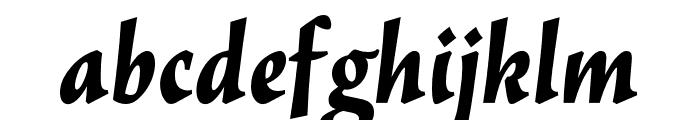 Vatican Bold Font LOWERCASE