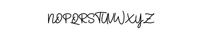 Velvet Vanilla Font UPPERCASE